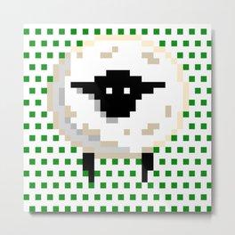 The sheep, it goes Baa! Metal Print