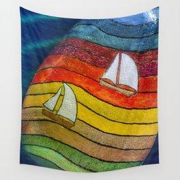 Plain Sailing Wall Tapestry