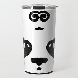 Panda Blush Travel Mug