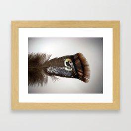Eastern Pelican Framed Art Print