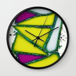 Yellow sail Wall Clock