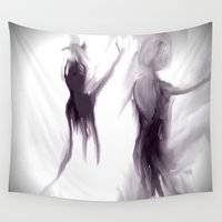 ballet Wall Tapestries featuring Ballet by Jessielee