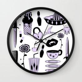 Switchblades Wall Clock