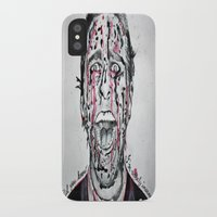 american psycho iPhone & iPod Cases featuring American Psycho  by pmaiti