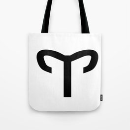 Aries sign Tote Bag