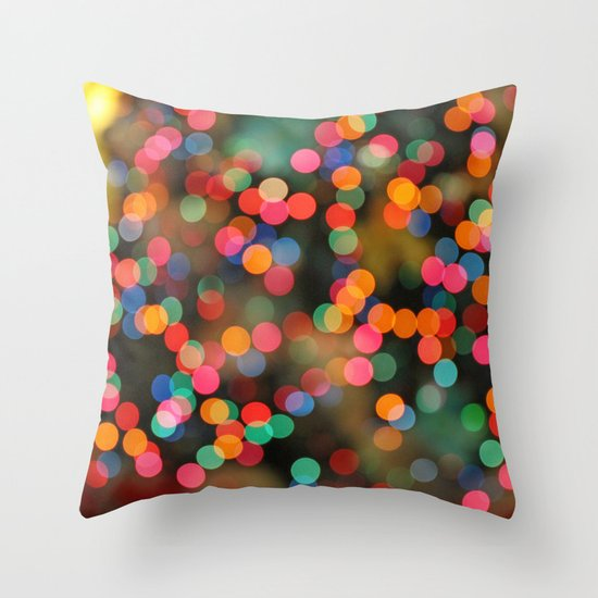 Just happy thoughts today... Throw Pillow
