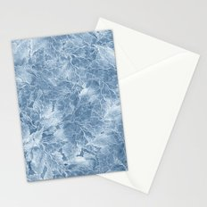 Frozen Leaves 7 Stationery Cards