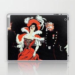 To jail Paris nightlife 1897 Laptop & iPad Skin
