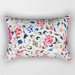 Summer Flora and Fauna Rectangular Pillow