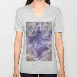 purple agate 0743 Unisex V-Neck