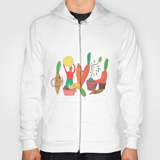 Vegetables Party. Hoody