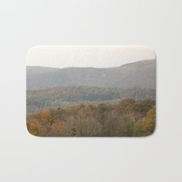 Fall colors in the French mountains Bath Mat