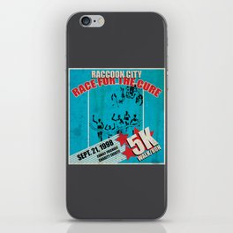 Race for the Cure: Run, Save Yourself iPhone Skin