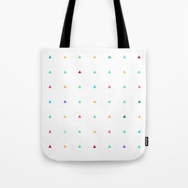 Small triangles Tote Bag