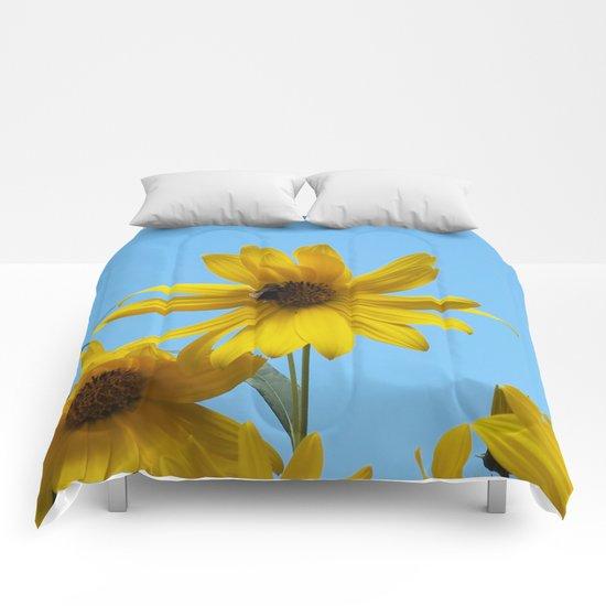 The Golden Sunflower Comforters
