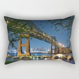 Tobin Bridge Rectangular Pillow