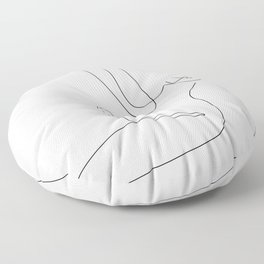 Highlight The Form Floor Pillow