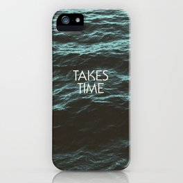Jim Guthrie Takes Time Water Design iPhone Case