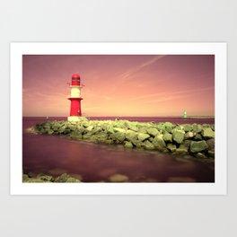 Lighthouse I Art Print