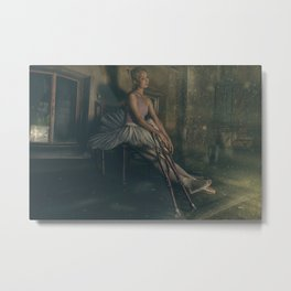 sad dancer Metal Print