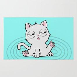 Kitty Bath Time Rug