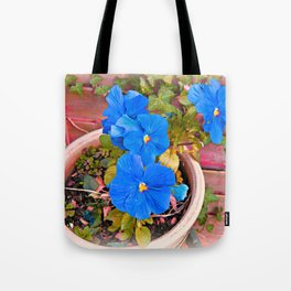 Little Blue Eyes. Tote Bag
