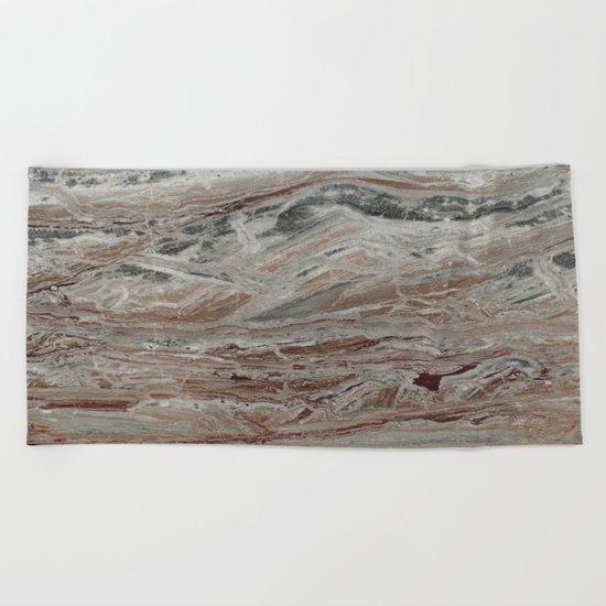 Arabescato-Orobico Fine Marble Beach Towel