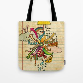 Notebook World Tote Bag