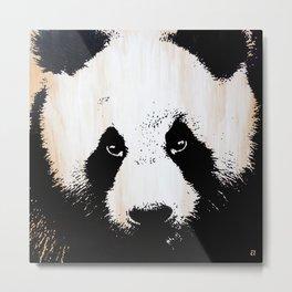 Pandamonium Metal Print