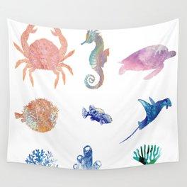 Fondo marino Wall Tapestry