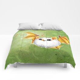 Cotton Ball Bat Comforters
