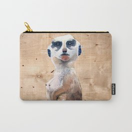 I only saw rainbows when the bandages came off/ Meerkat Carry-All Pouch