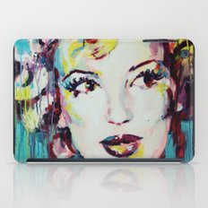 Merylin Monroe cinema and pop culture icon - portrait iPad Case