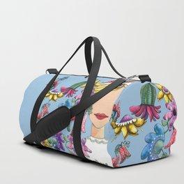 I Love the Flower Girl Duffle Bag