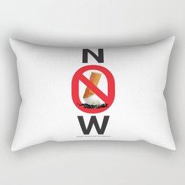 Stop smoking now - Great American Smokeout Rectangular Pillow