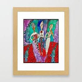 Sister Fates Framed Art Print