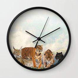 Cat Ageis Wall Clock