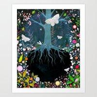 velvet underground Art Prints featuring Underground by Danse de Lune