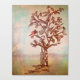 The Tree Builder Canvas Print