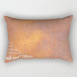 Brush & Floss Rectangular Pillow