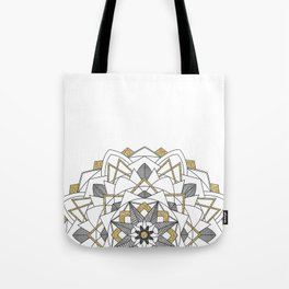 Glitter and Gold Tote Bag