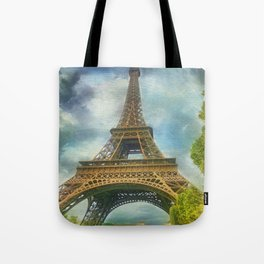 Eiffel Tower - La Tour Eiffel Tote Bag