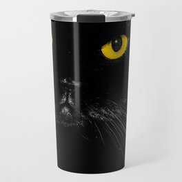 Yellow eyes Travel Mug