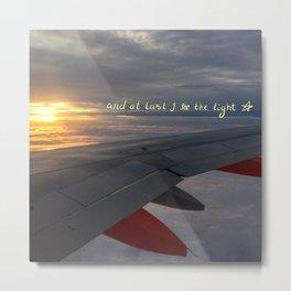 Light Sky Metal Print