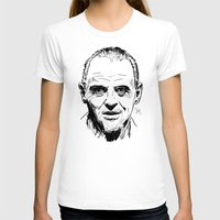 silence of the lambs T-shirts featuring Hannibal Lecter Sketch - The Silence of the Lambs by Soyarts
