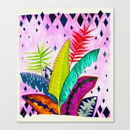 My Tropicana Garden Canvas Print