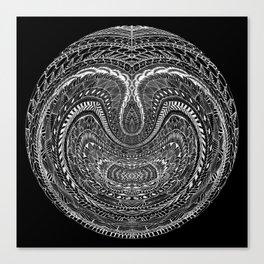 Tangled Orb Canvas Print