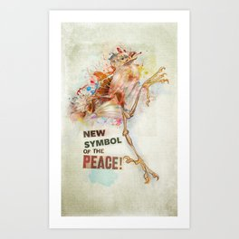New Symbol Of The Peace Art Print
