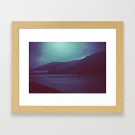 you'll see the sun soon Framed Art Print
