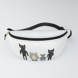 my roommates who meow Fanny Pack